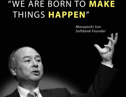 Nhà sáng lập Softbank - Son Masayoshi
