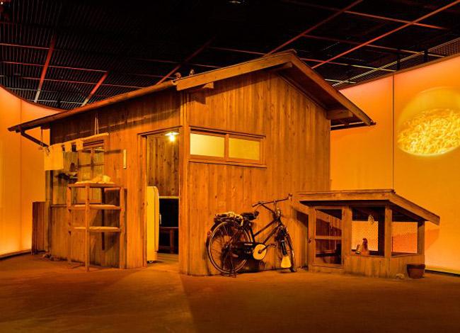 Căn nhà nơi ông Momofuku Ando tìm ra công thức chế biến mỳ ăn liền. Ảnh: Cupnoodles Museum