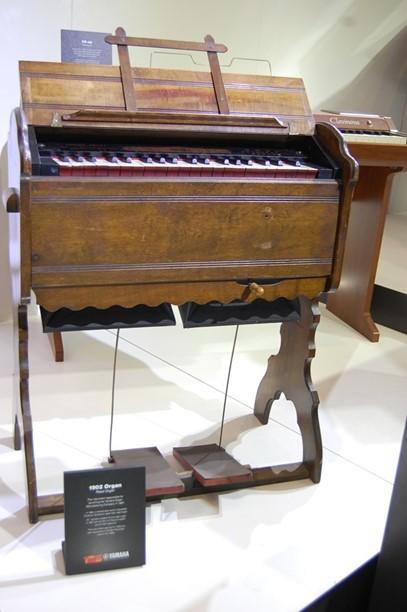 Chiếc đàn Yamaha Organ được sản xuất năm 1902