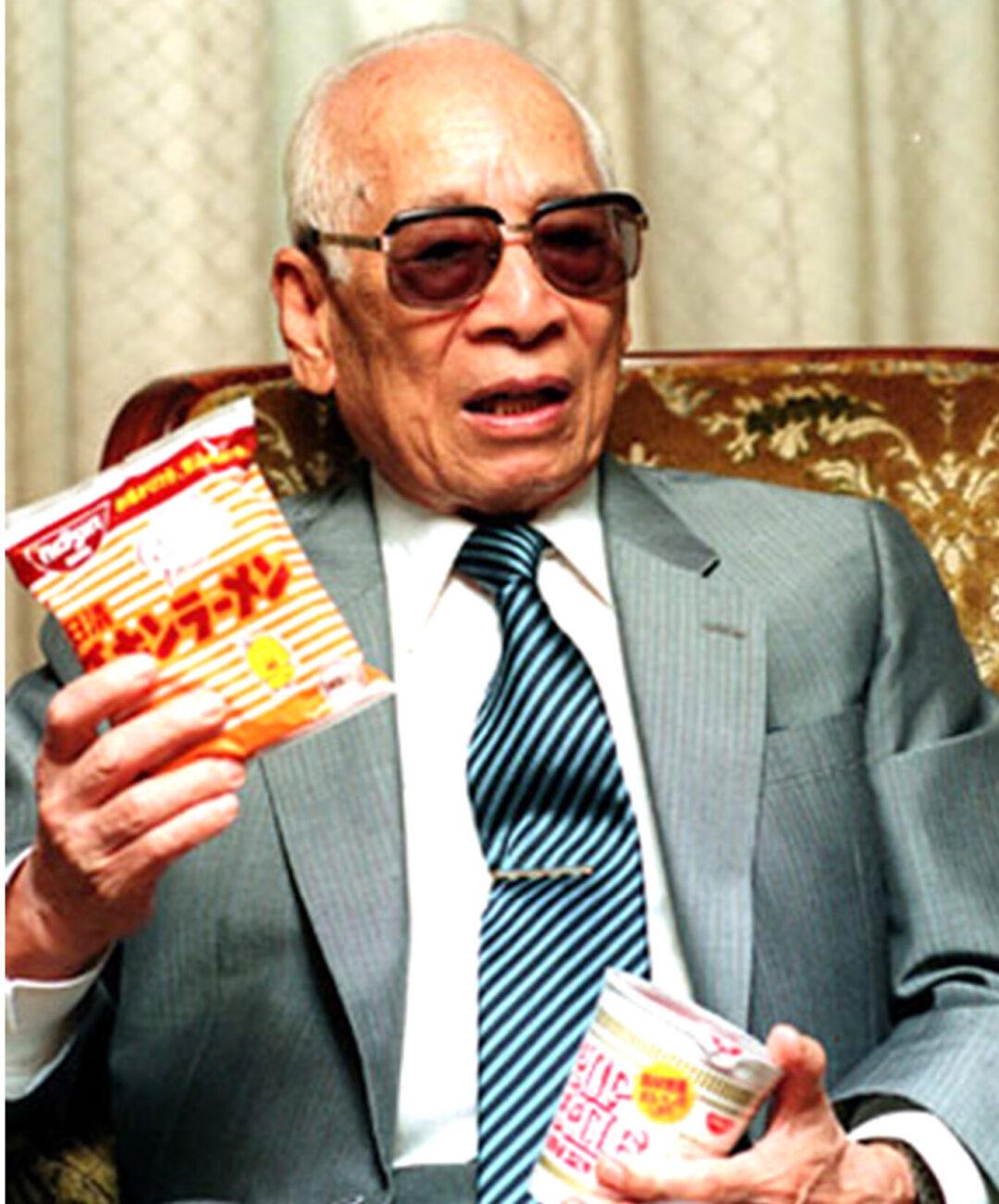 momofuku-ando Cha đẻ mỳ ăn liền