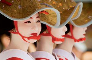 Geisha voi net dac trung