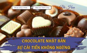 Chocolate Nhật Bản - Sự phát triển không ngừng