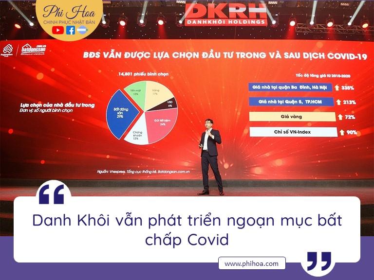 Đẩy mạnh M&A, Tập đoàn Danh Khôi là điểm sáng BĐS giữa đại dịch Covid